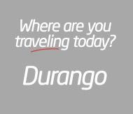Bus travel to Durango