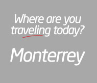 Bus travel to Monterrey