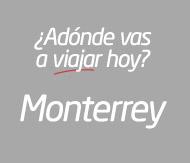 Viaje en autobús a Monterrey